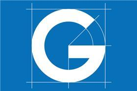 g logo nhs blue