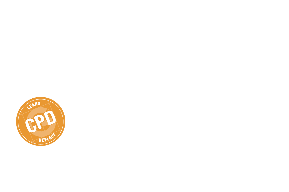 Guidelines Learning logo white
